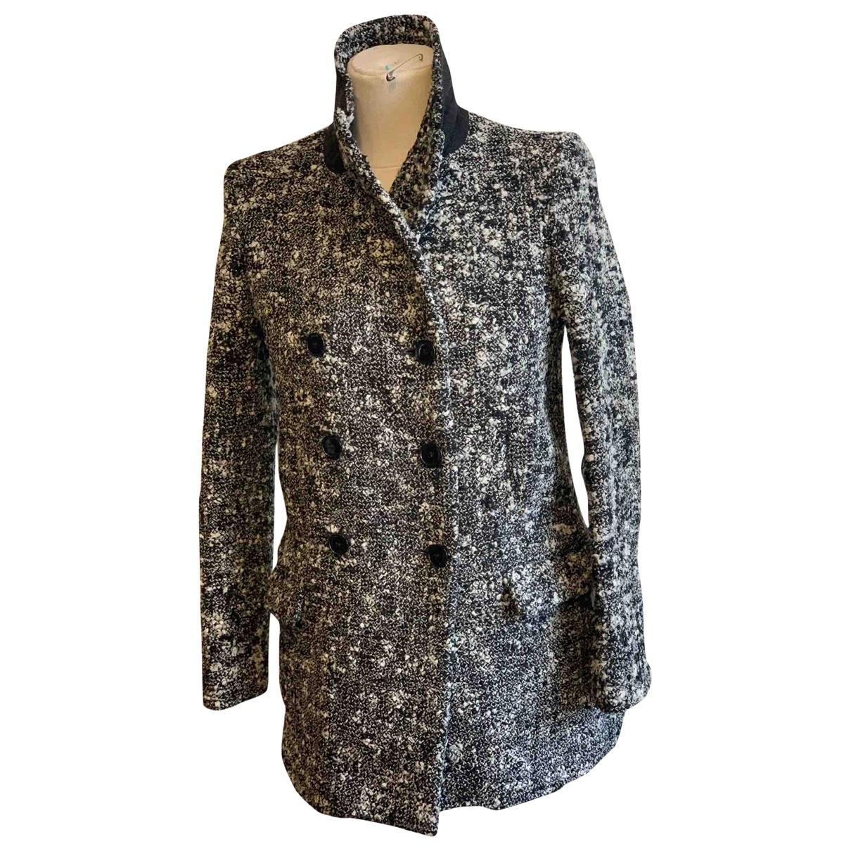 The Kooples \N Black Wool coat for Women 34 FR