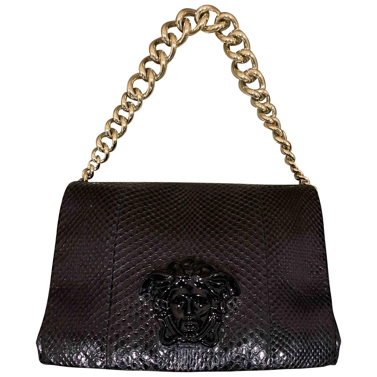 Versace \N Handtasche in  Schwarz Python