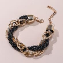 Maenner Metall Armband