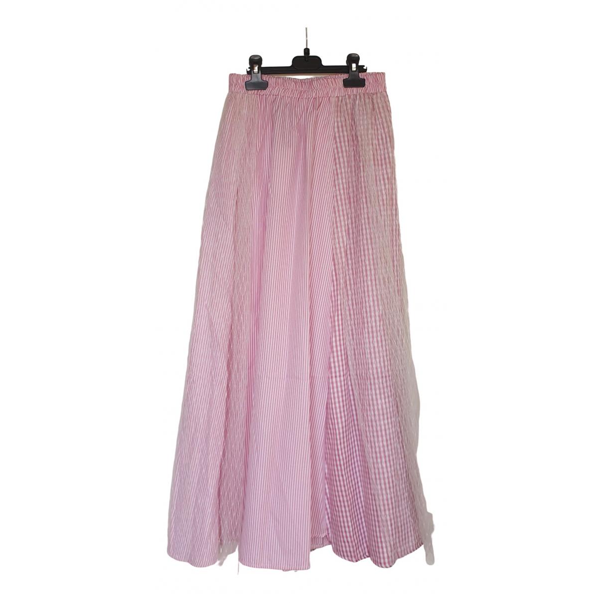 Brigitte Bardot - Jupe   pour femme en coton - rose