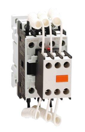 Lovato 3 Pole Contactor - 12 A, 400 V ac Coil, 3NO, 7.5 kVar