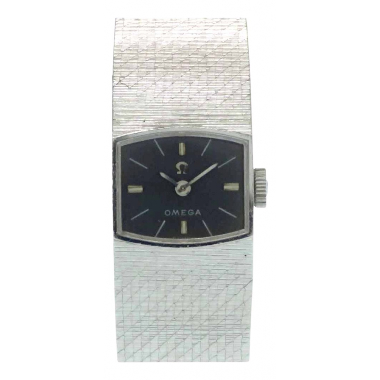 Omega N Grey White gold watch for Women N