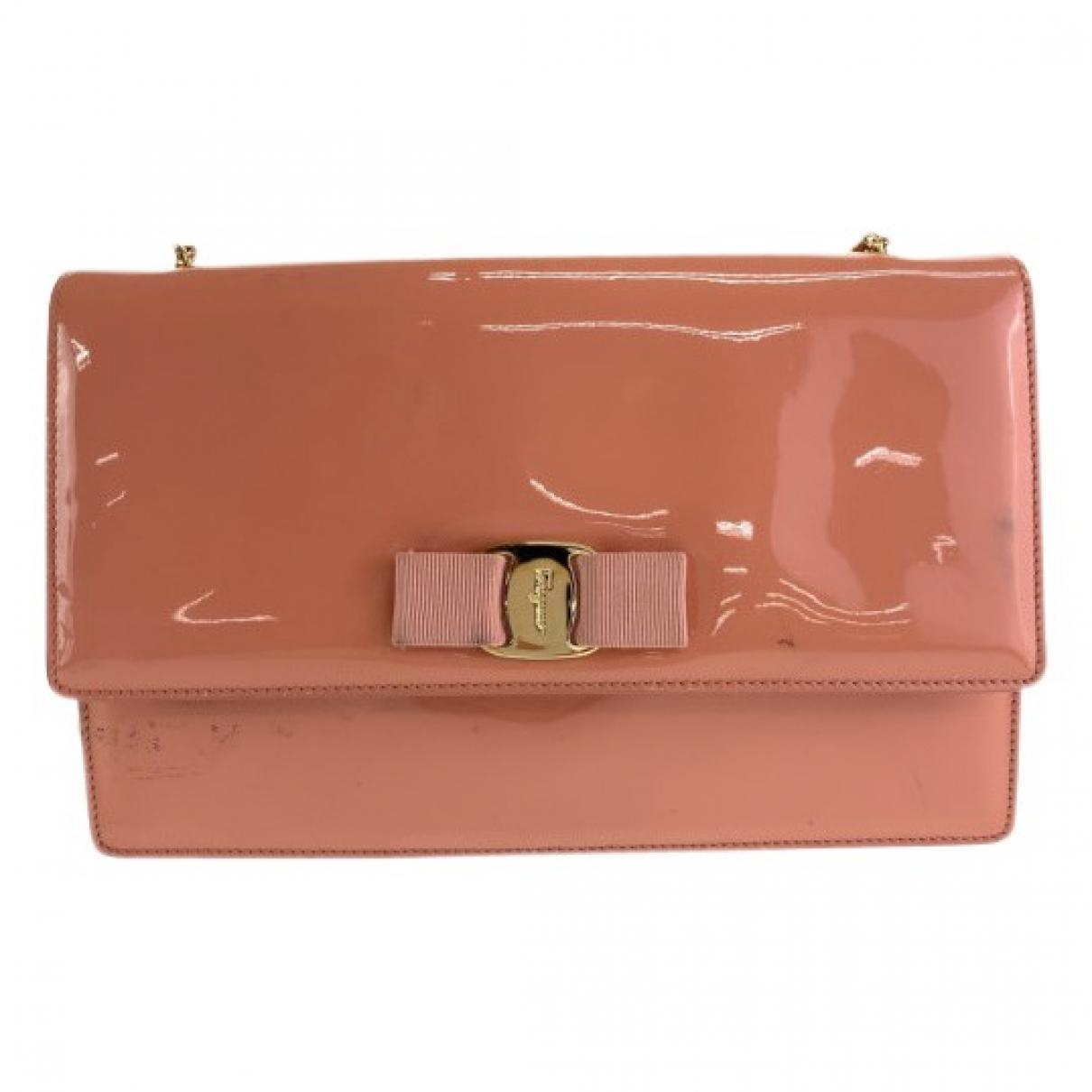 Salvatore Ferragamo \N Patent leather handbag for Women \N