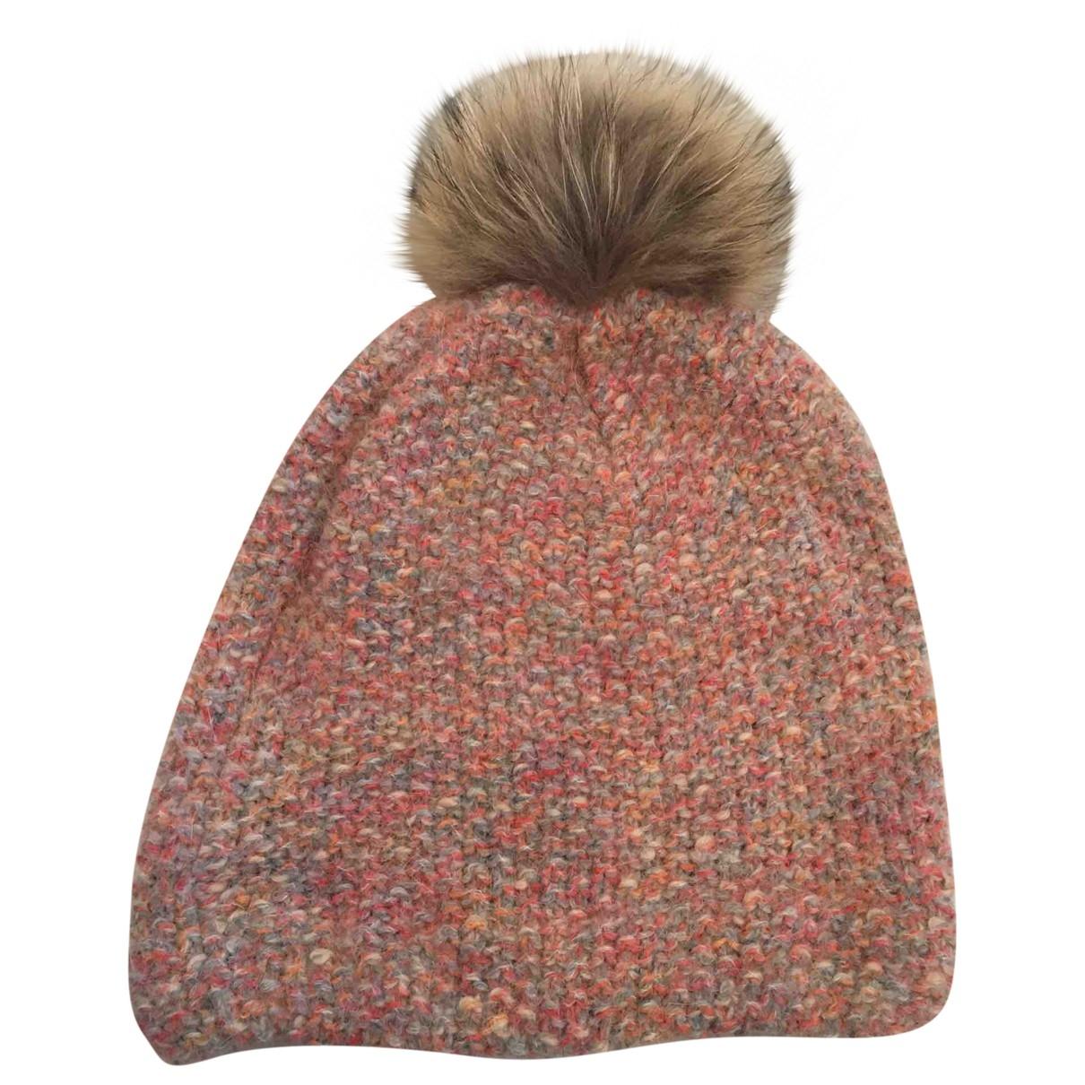Inverni \N Pink Wool hat for Women M International