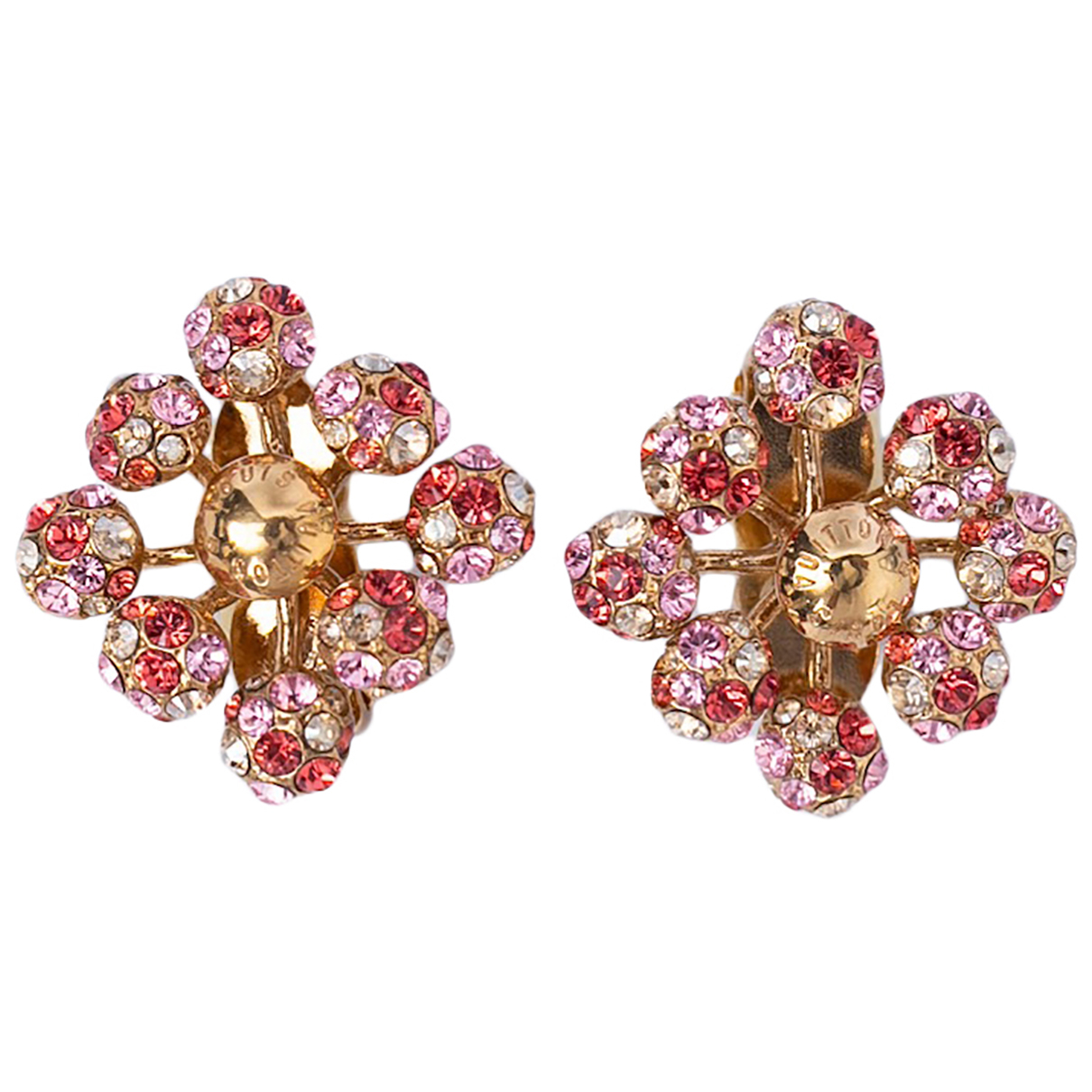 Louis Vuitton - Boucles doreilles   pour femme en metal - rose