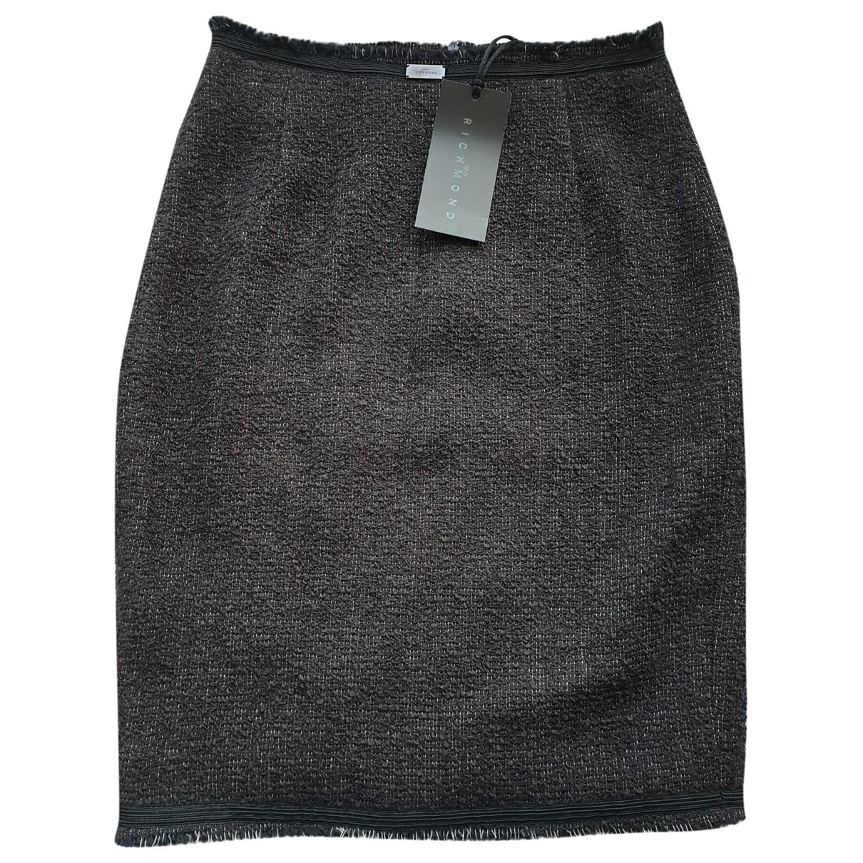 Mini falda de Lana John Richmond