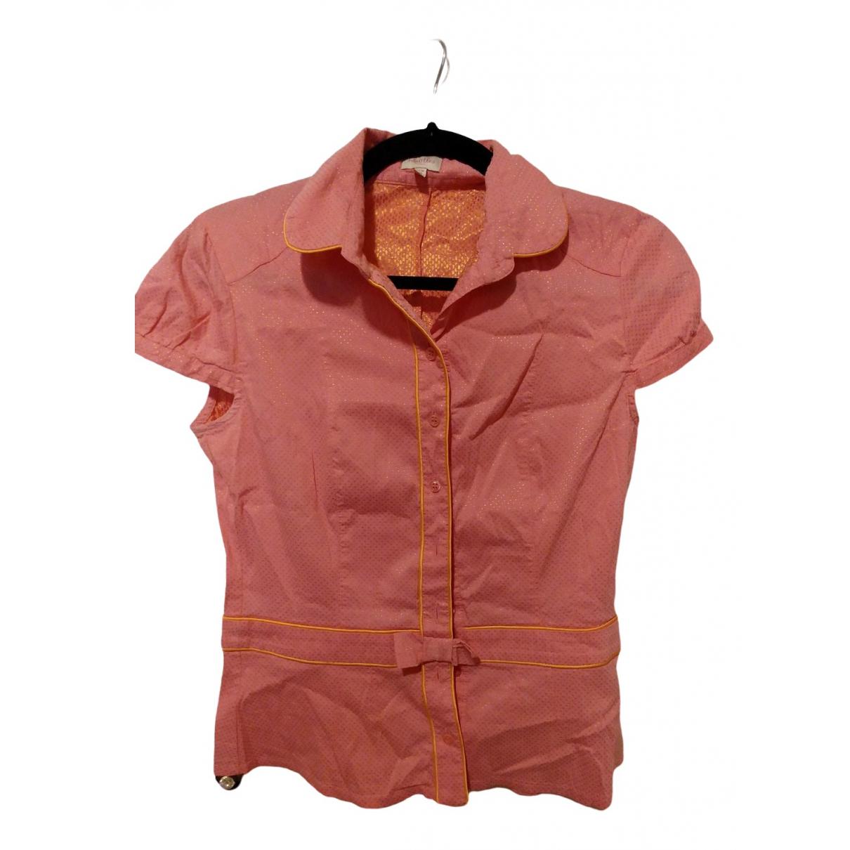 Whistles - Top   pour femme en coton - rose