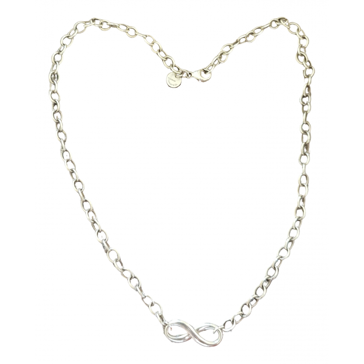 Tiffany & Co Tiffany Infinity Kette in  Silber Silber