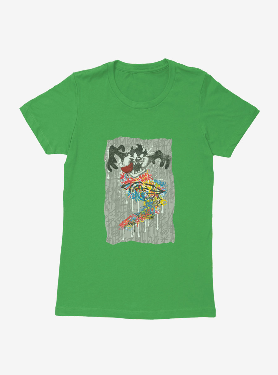 Looney Tunes Tasmanian Devil Mania Womens T-Shirt