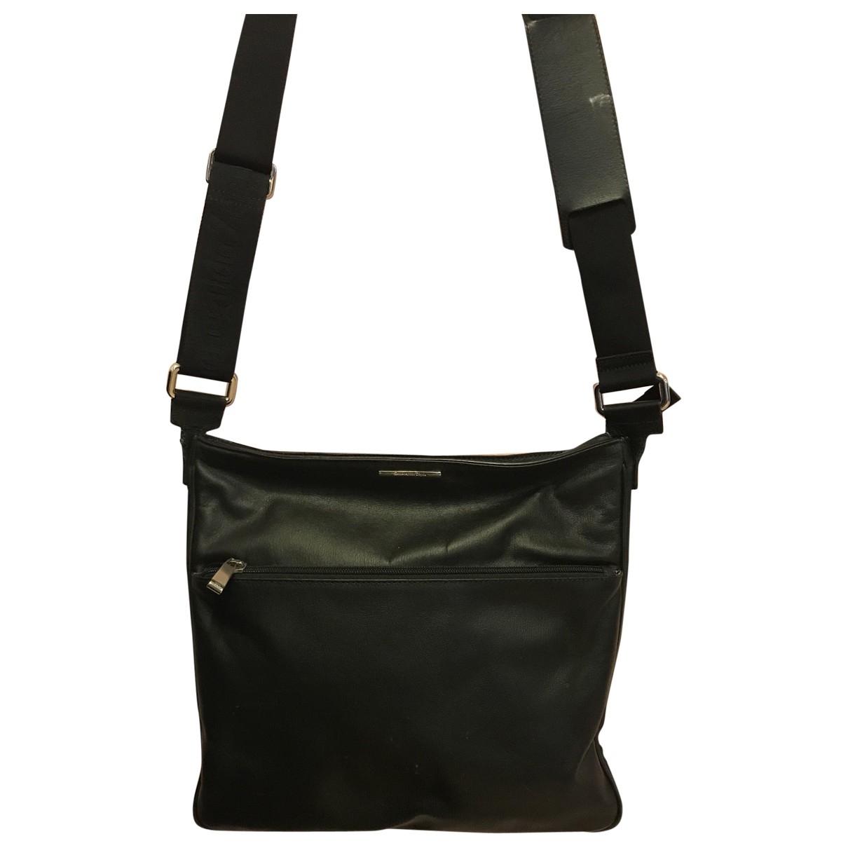 Ermenegildo Zegna \N Black Leather bag for Men \N