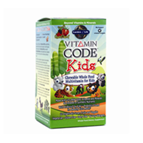 Vitamin Code 60 chewable by Garden of Life