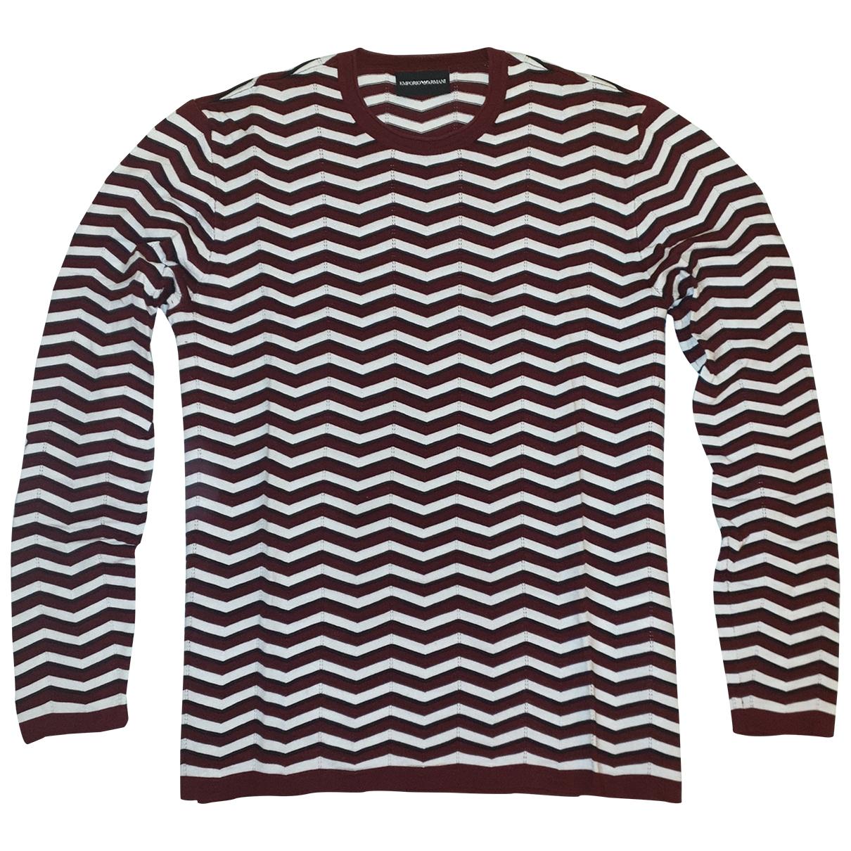 Emporio Armani \N Pullover.Westen.Sweatshirts  in  Bunt Viskose