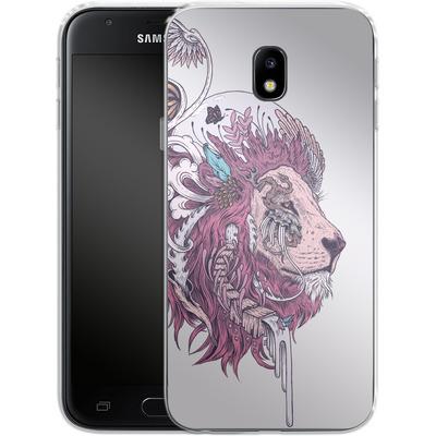 Samsung Galaxy J3 (2017) Silikon Handyhuelle - Unbound Autonomy von Mat Miller