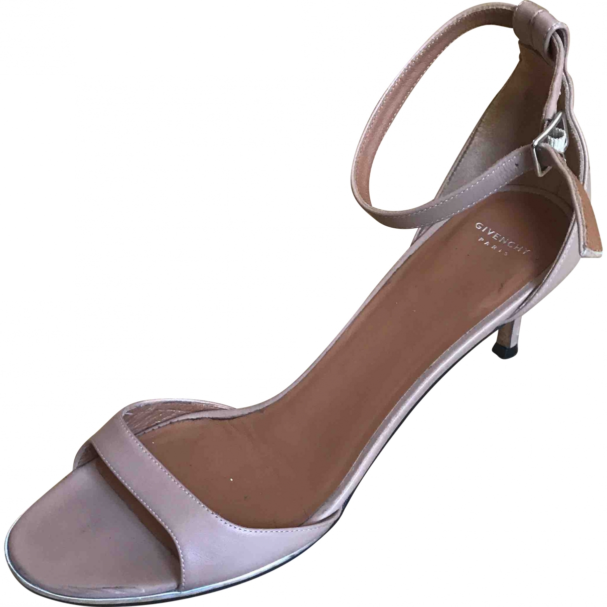 Givenchy \N Beige Leather Sandals for Women 40 EU