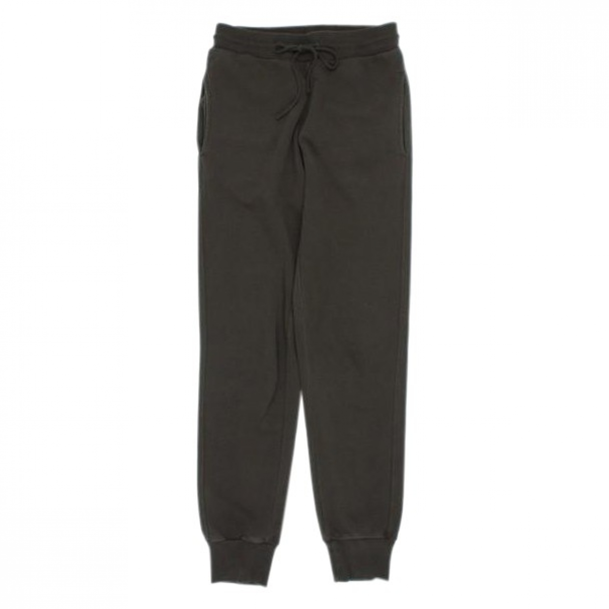 Pantalon en Algodon Verde Dries Van Noten