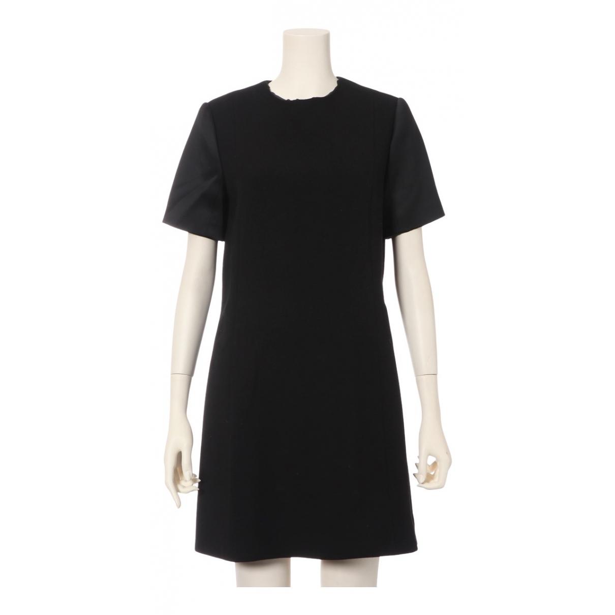 Celine \N Kleid in  Schwarz Wolle