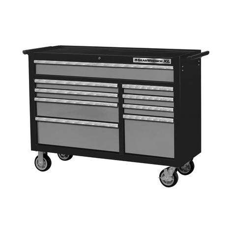 GearWrench Tool Storage 53 In. 9 Drawer Roller Cabinet, XL Series
