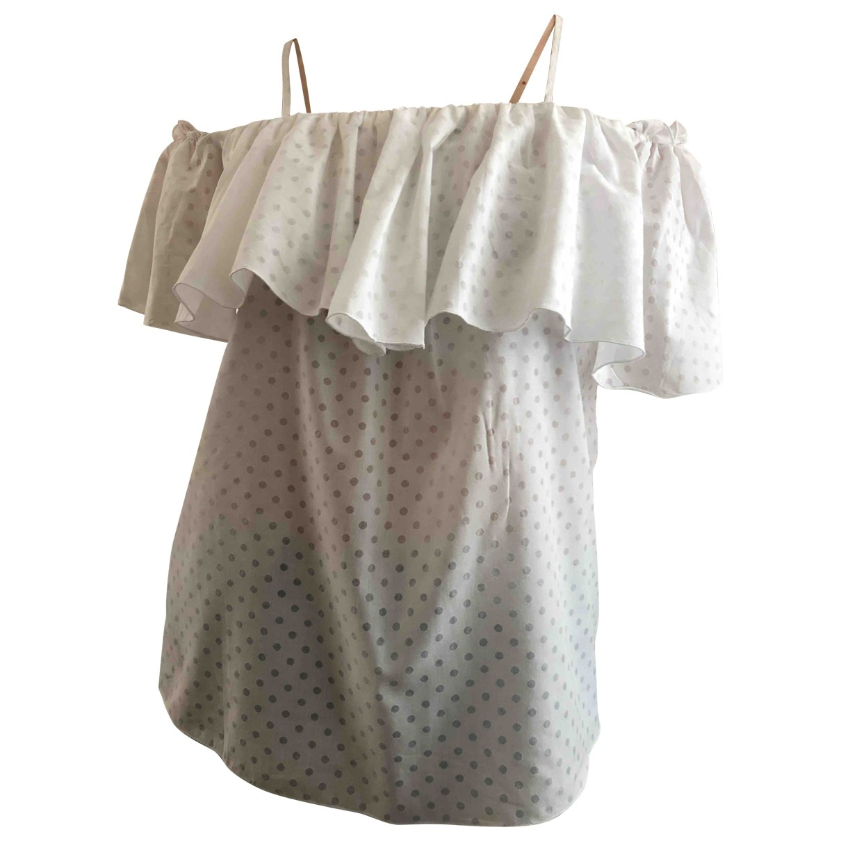 & Stories \N White Cotton  top for Women 38 IT