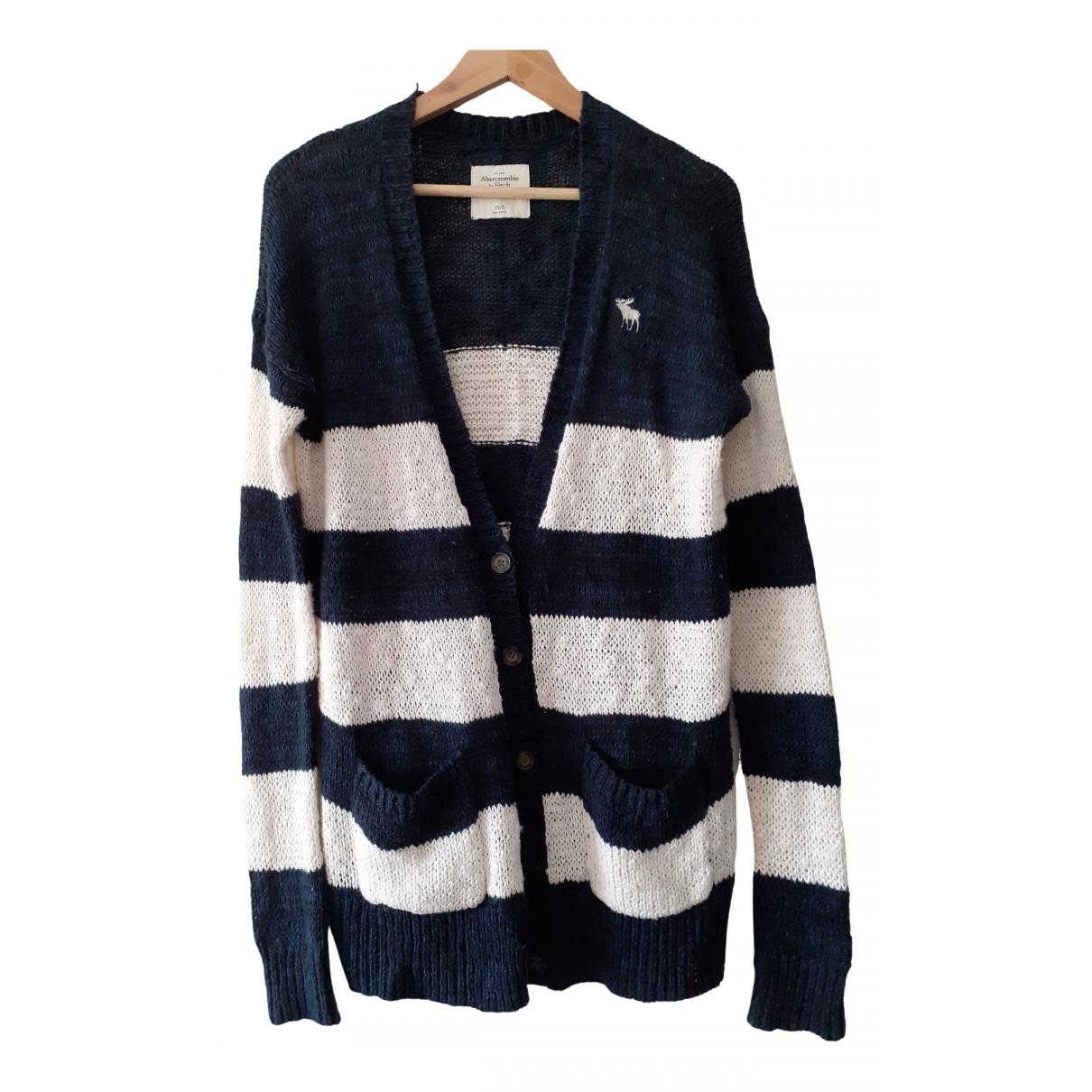 Abercrombie & Fitch - Pulls.Gilets.Sweats   pour homme en coton - bleu