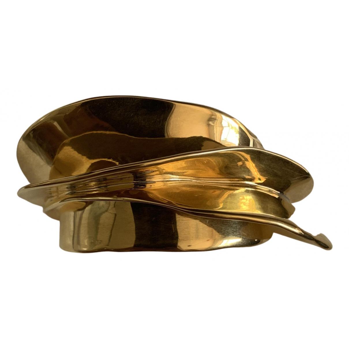 Celine - Bracelet Swirl pour femme en metal - dore