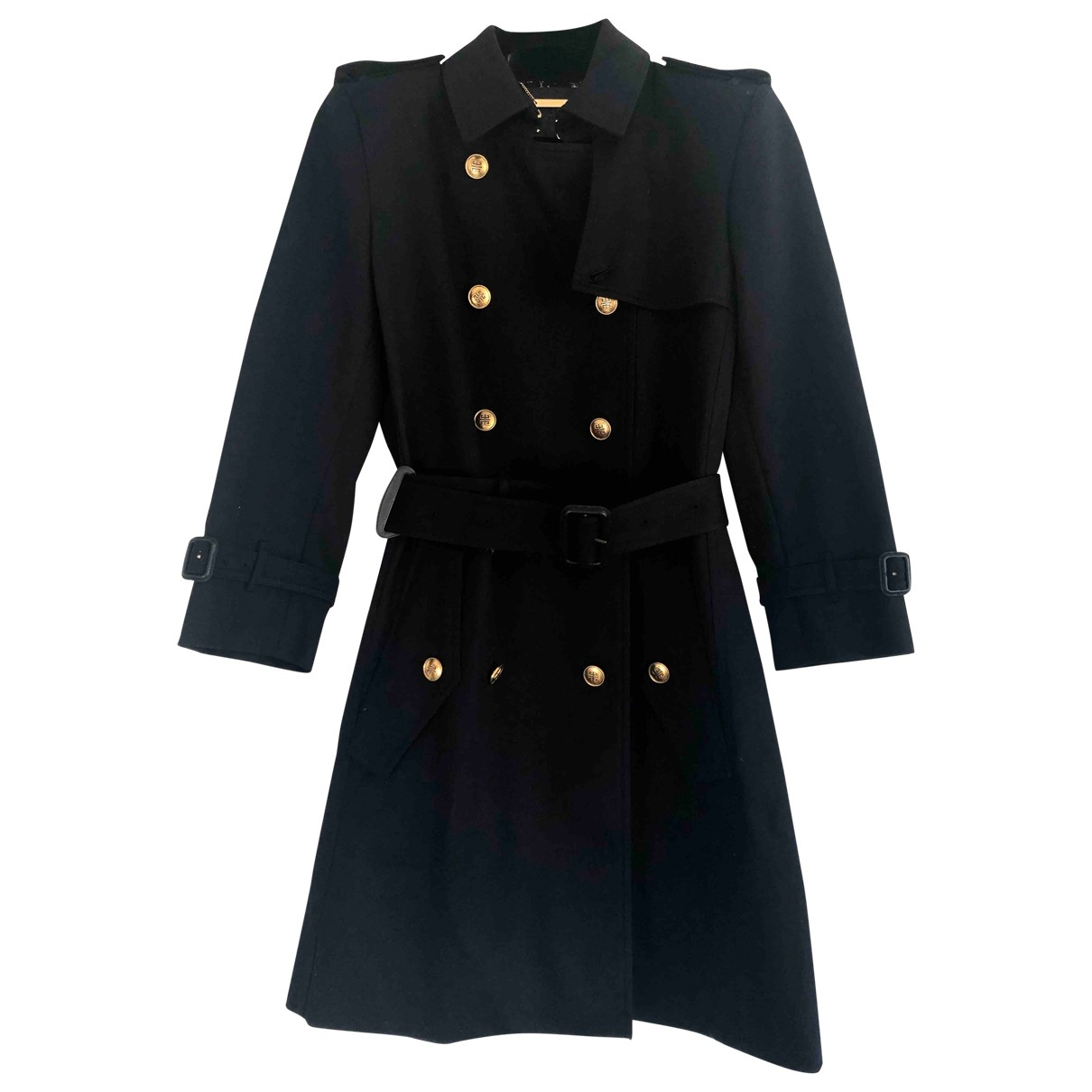 Givenchy \N Navy Cotton coat for Women 38 FR