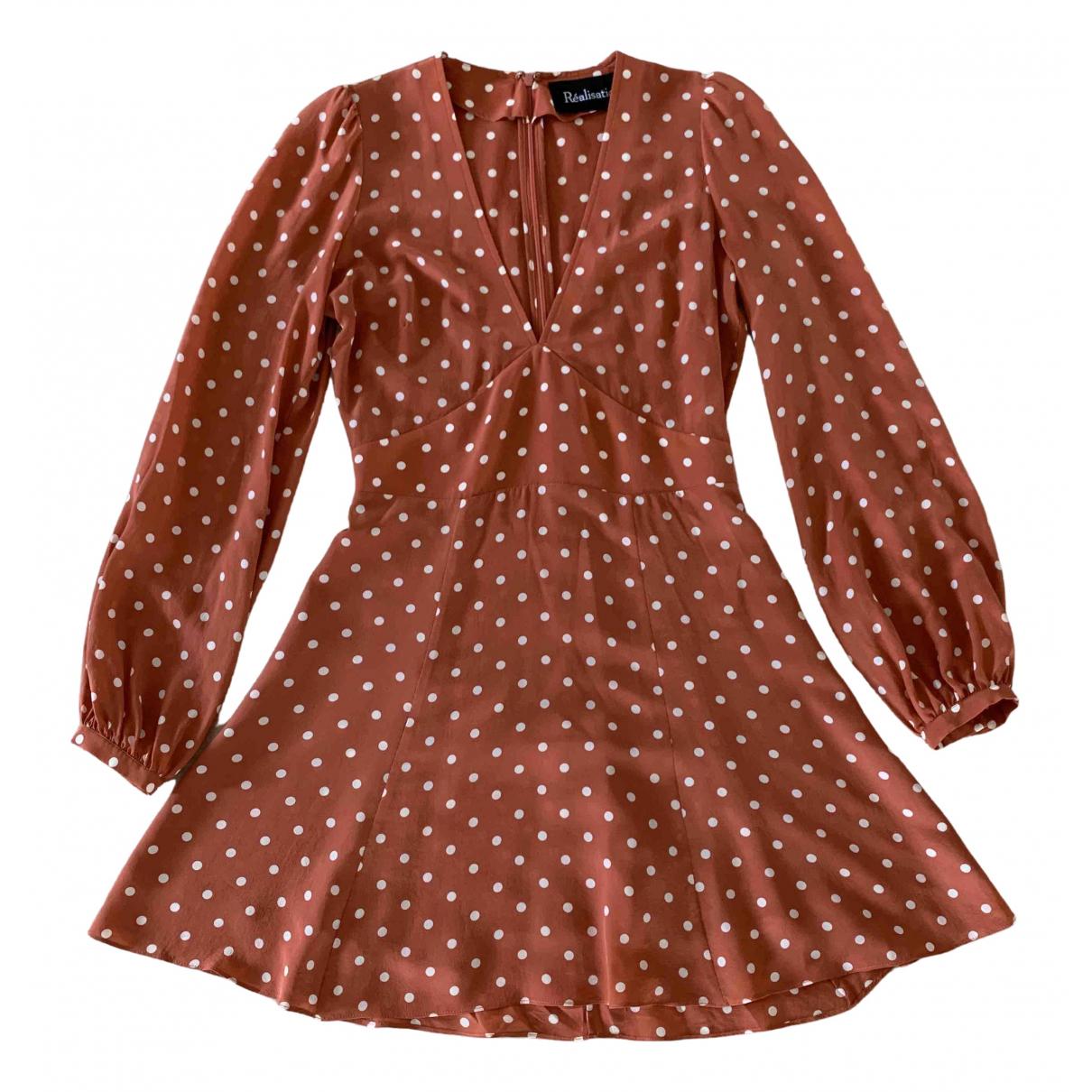 Mini vestido  Kate de Seda Realisation