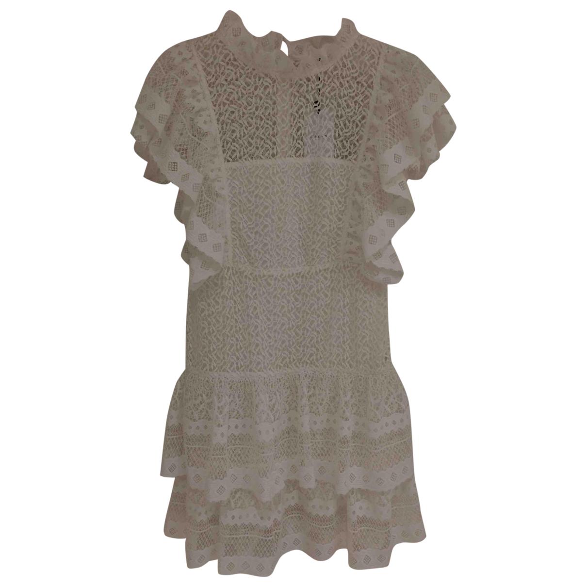 Anine Bing \N Kleid in  Weiss Polyester