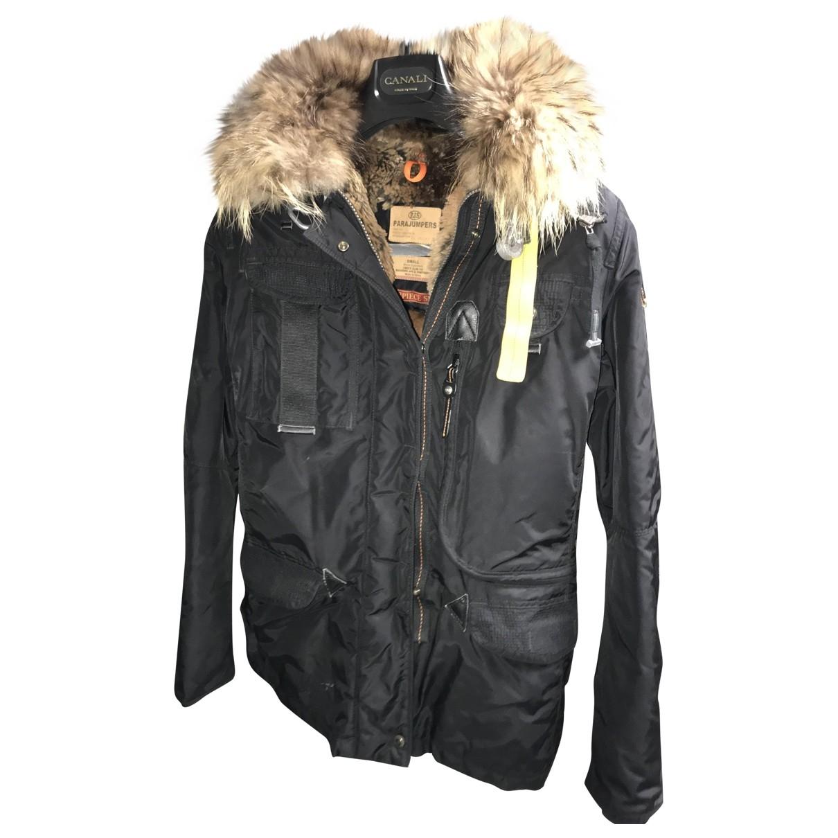 Parajumpers - Manteau   pour femme en cuir - noir