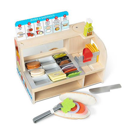 Melissa & Doug Slice & Stack Sandwich Counter, One Size , No Color Family