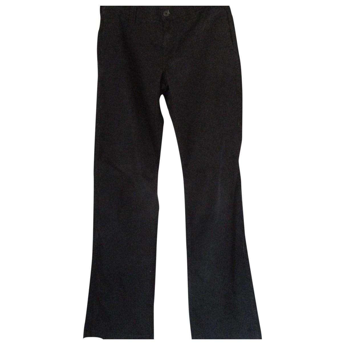 Armani Jeans \N Blue Cotton Trousers for Men 50 IT
