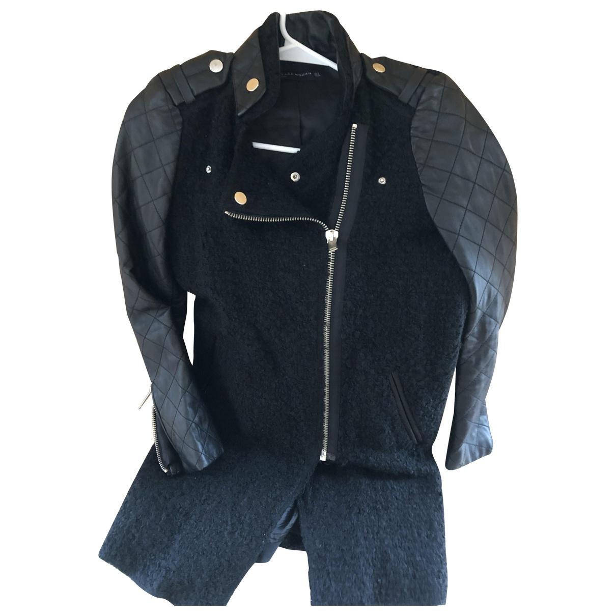 Zara \N Black Wool jacket for Women 40 IT
