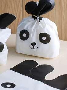 Cartoon Print Packaging Bag 50pcs