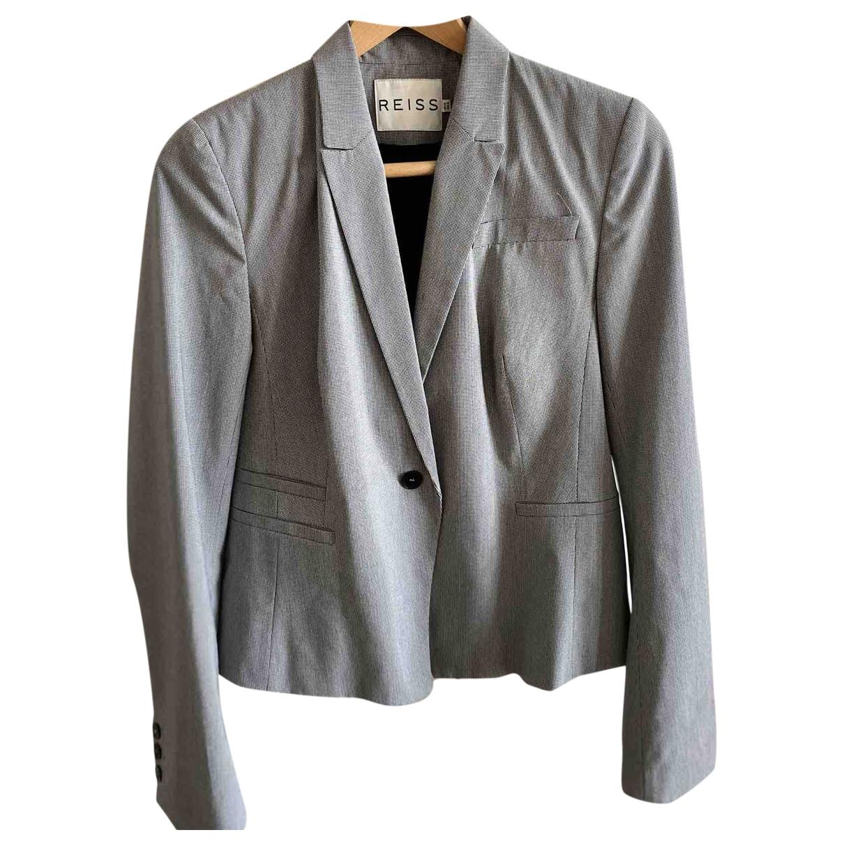 Reiss \N Grey jacket for Women 12 UK