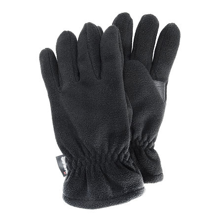 QuietWear Waterproof Fleece Gloves, Large , Black