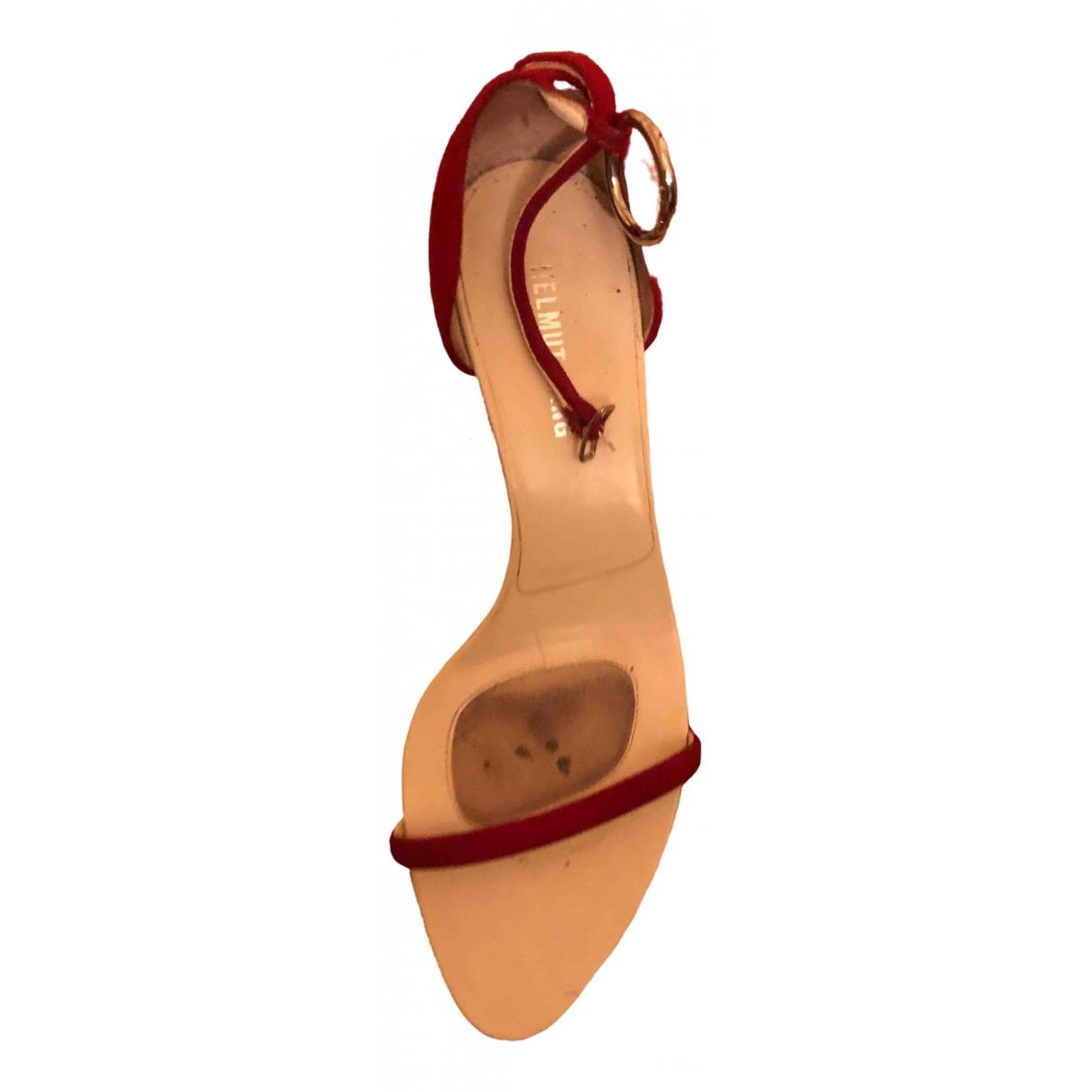 Sandalias romanas de Cuero Helmut Lang
