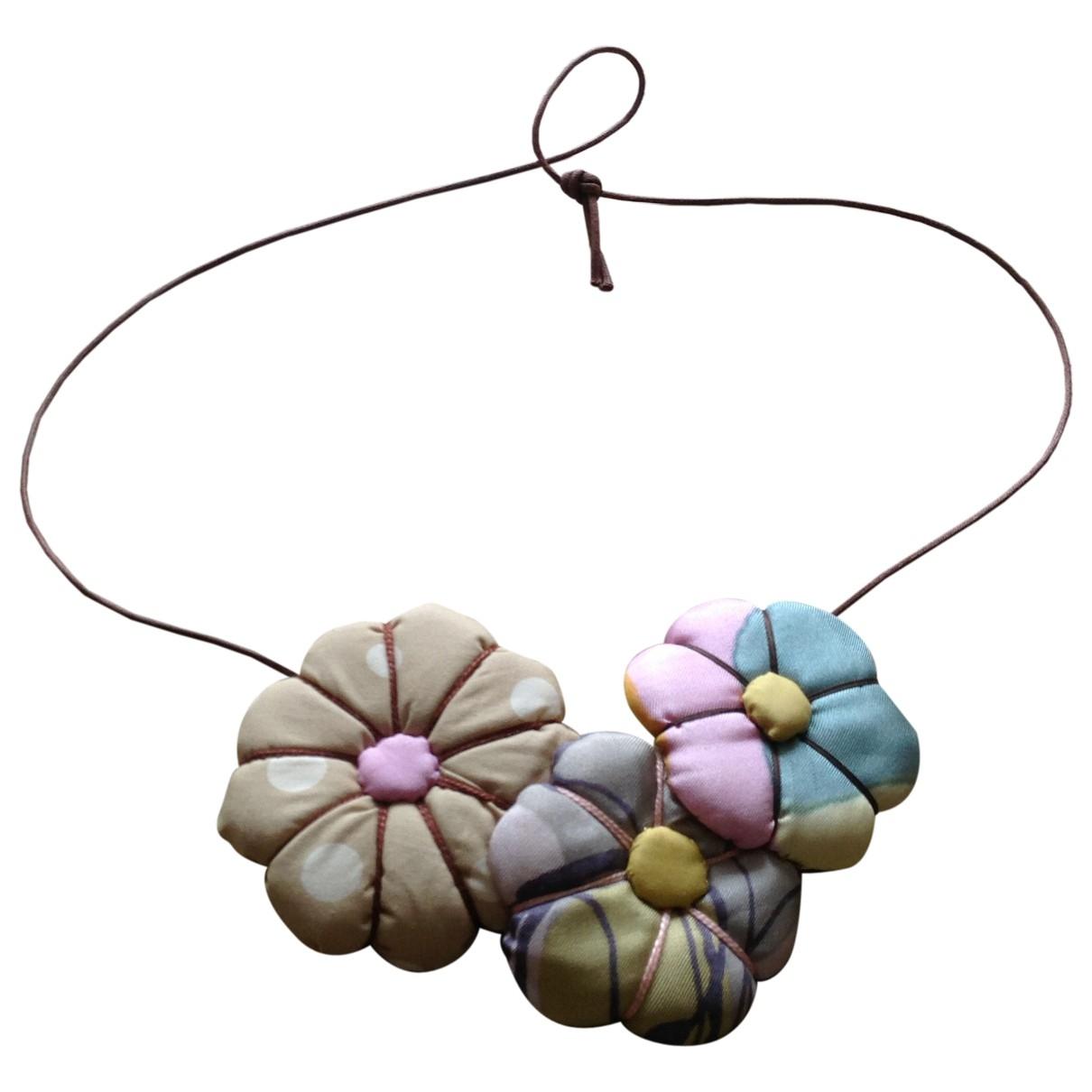 Marni - Collier   pour femme en toile - multicolore