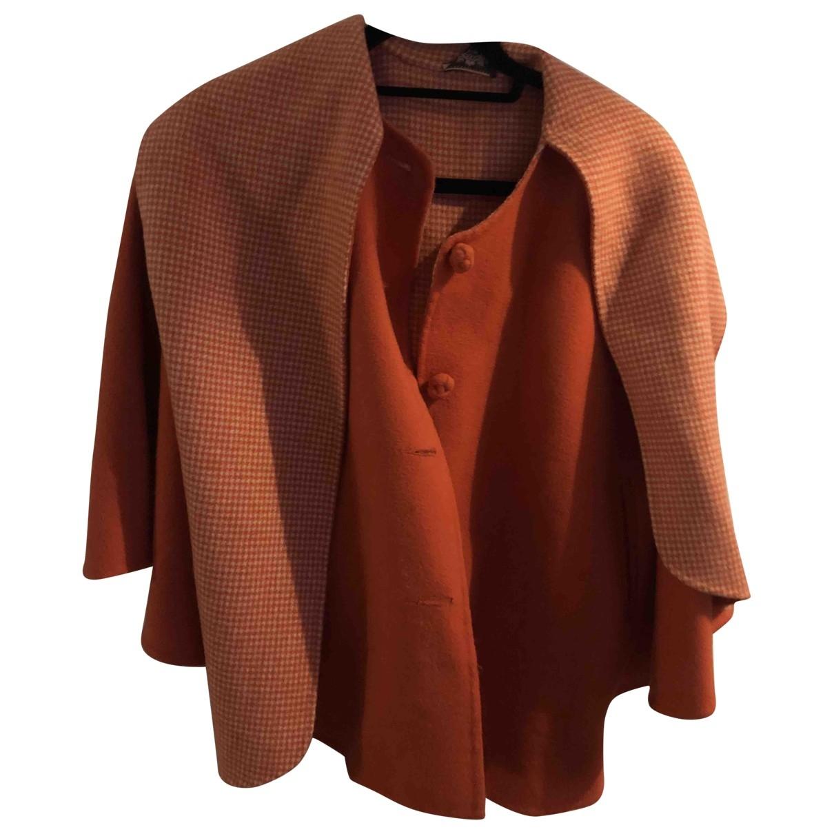 Juicy Couture - Manteau   pour femme en cachemire - orange