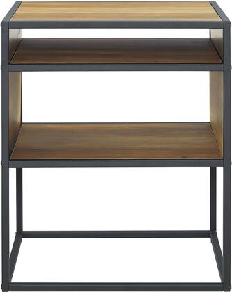 AF20JERRO Industrial Modern Side Table in Reclaimed
