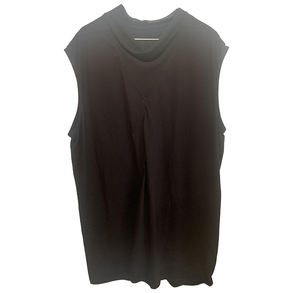 Rick Owens N Black Cotton T-shirts for Men M International