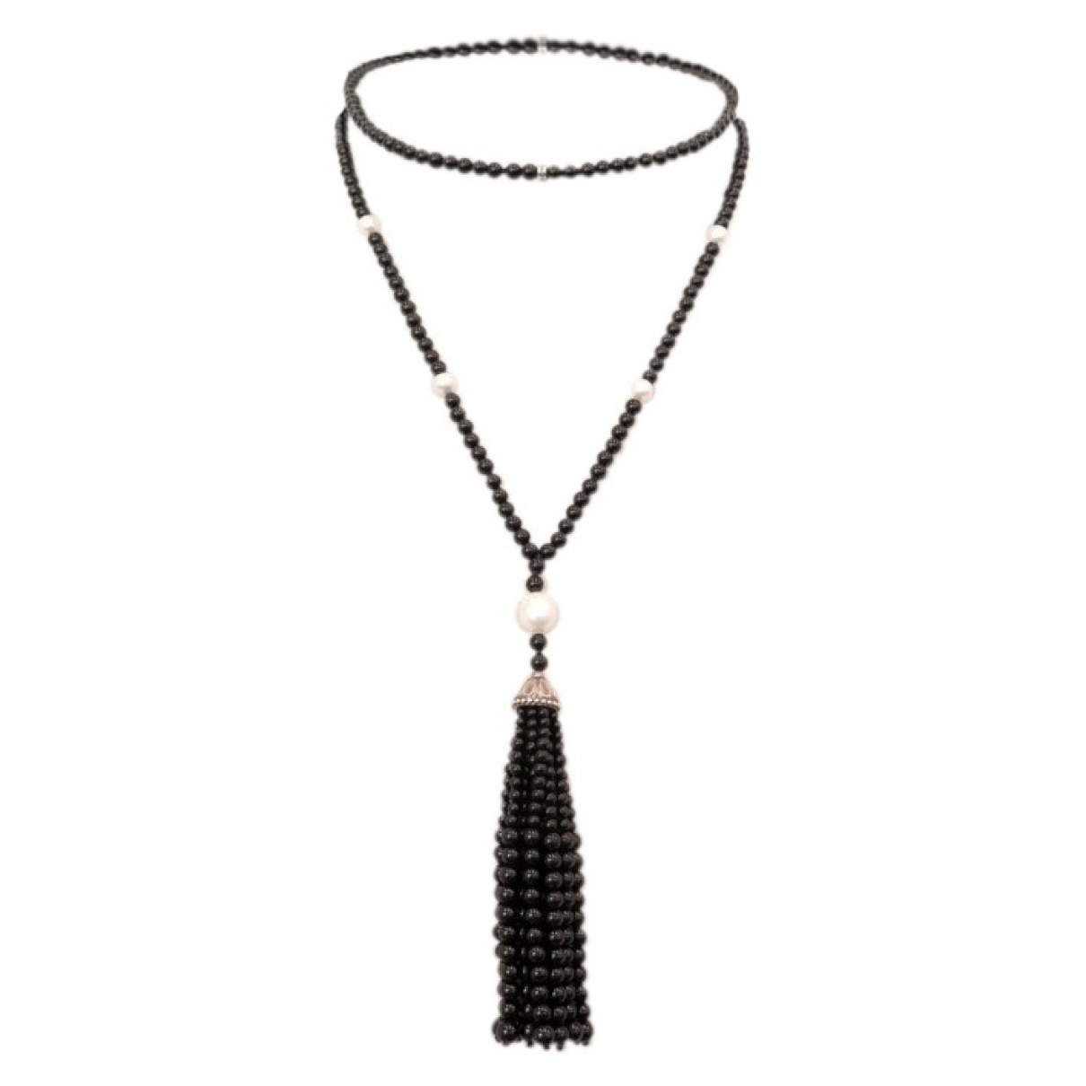 Tiffany & Co \N Black Pearls necklace for Women \N