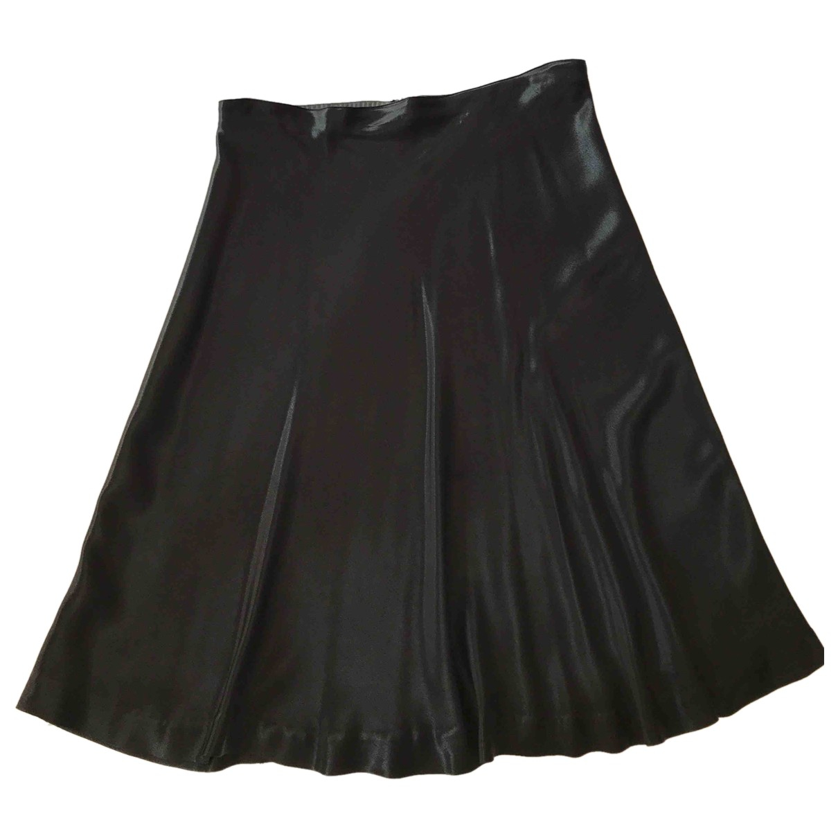 Maison Martin Margiela - Jupe   pour femme en soie - noir
