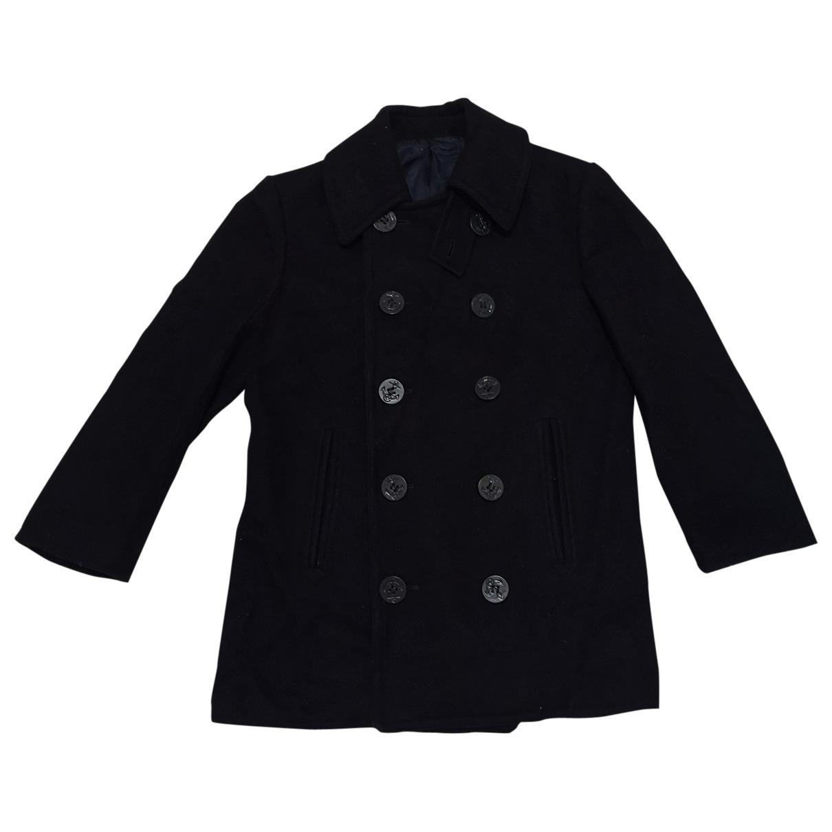 Ralph Lauren - Manteau   pour femme en laine - noir