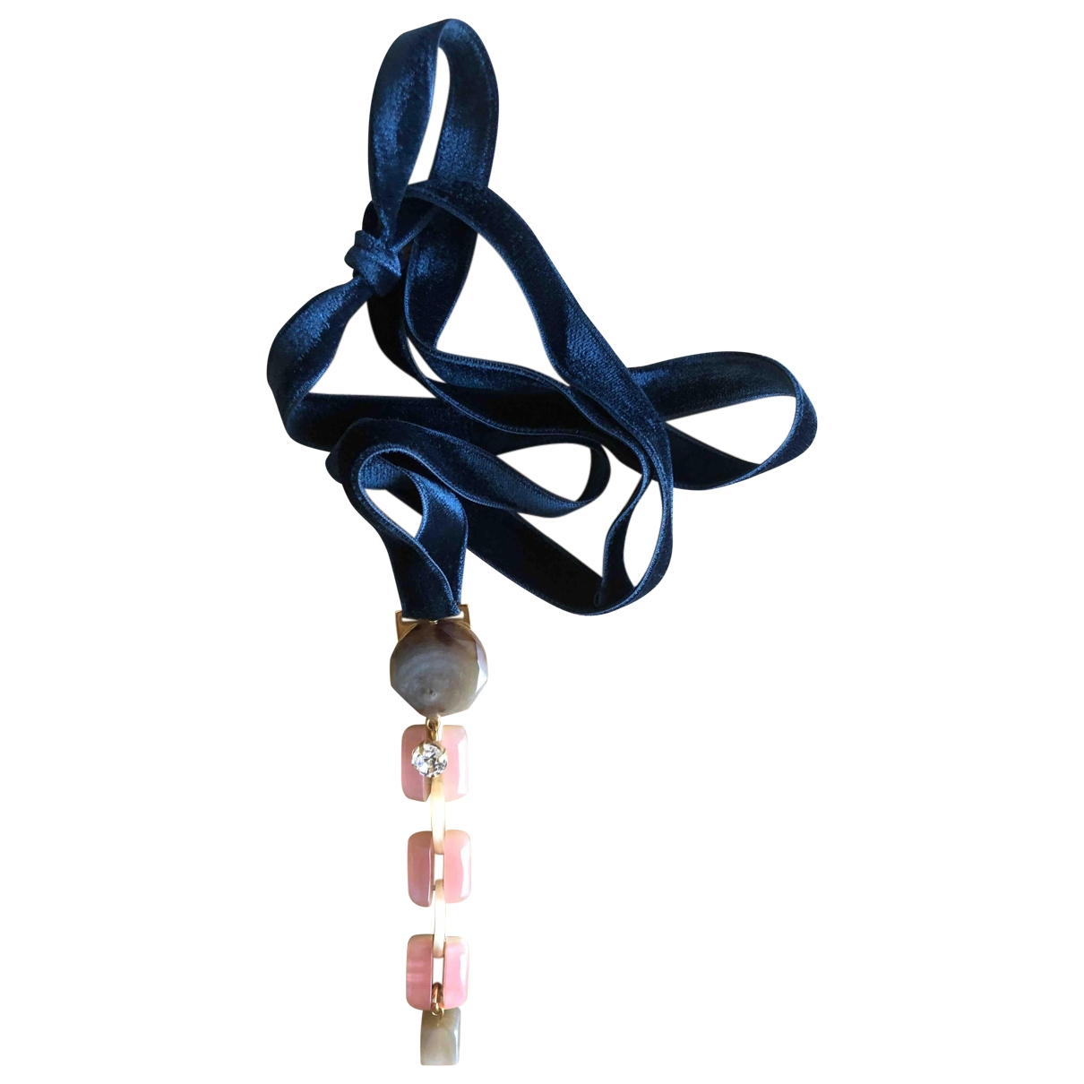 Marni \N \N Velvet necklace for Women \N