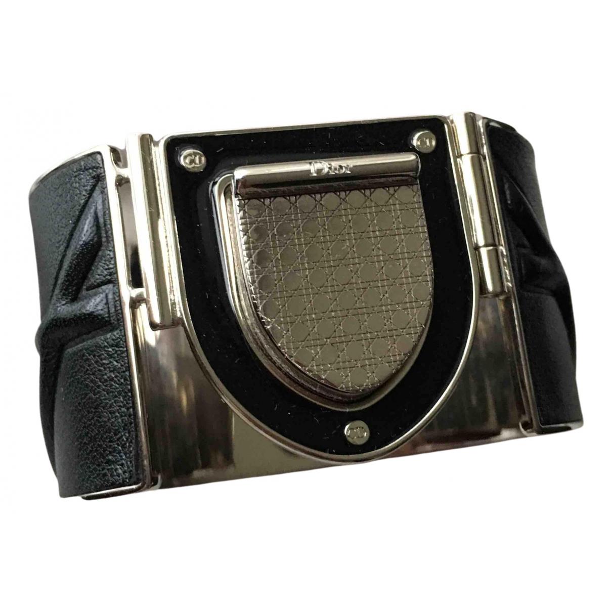 Dior \N Armband in  Schwarz Leder