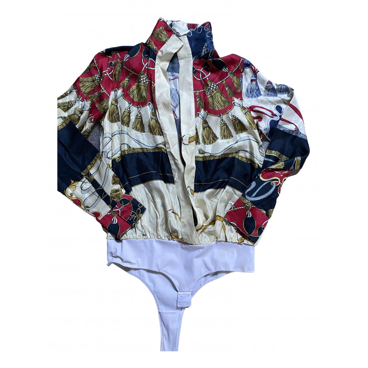 Dondup - Pull   pour femme en soie - multicolore