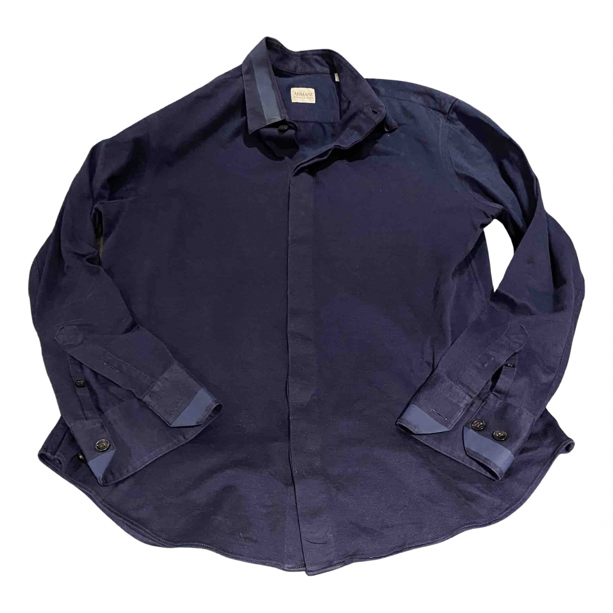 Armani Collezioni \N Blue Shirts for Men M International