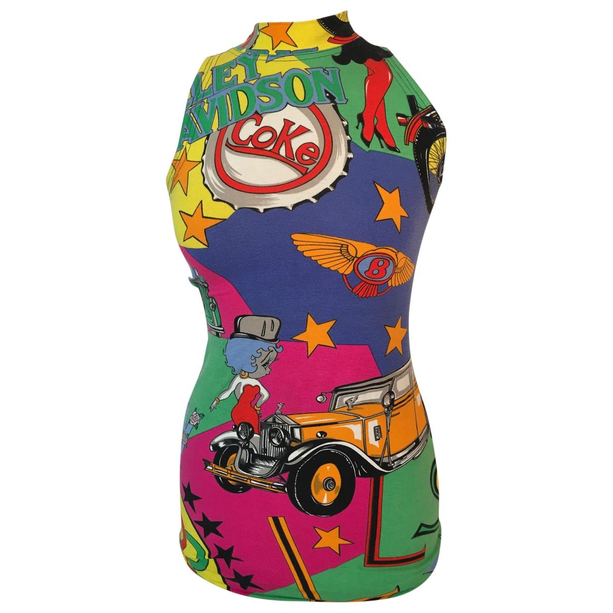 Versace Jean - Robe   pour femme en coton - multicolore