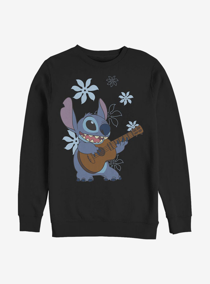 Disney Lilo And Stitch Flowers Sweatshirt
