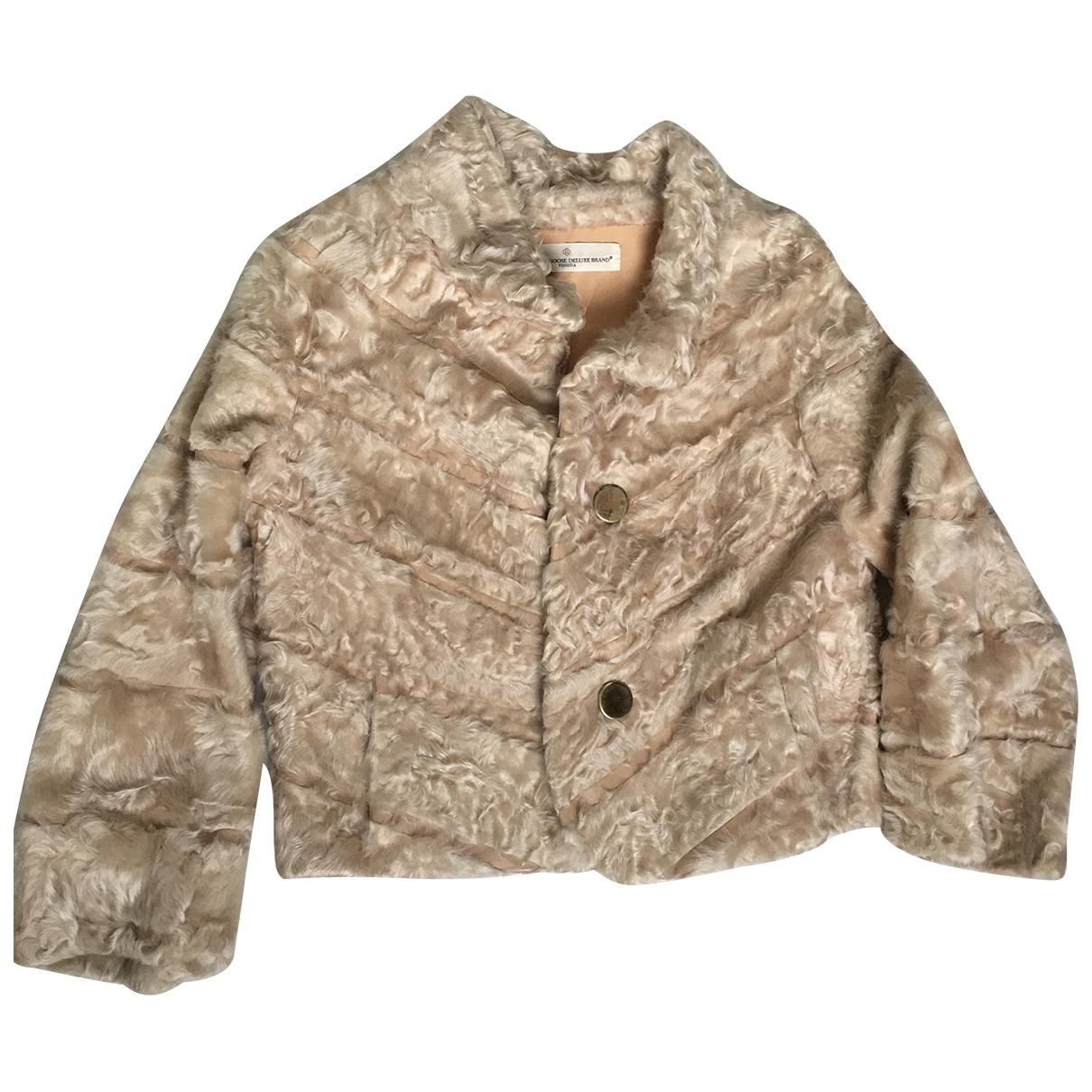 Golden Goose \N Ecru Fur coat for Women S International