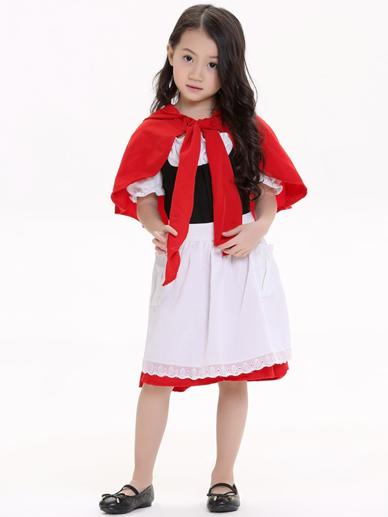 Ericdress Halloween Little Red Riding Hood Costume